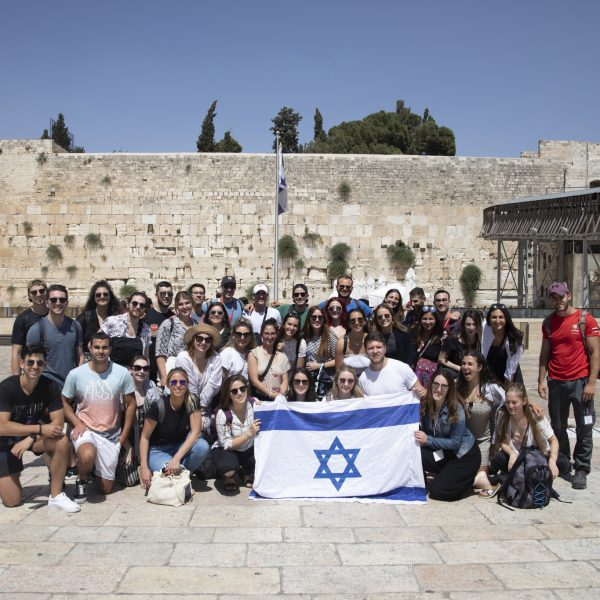 Group at Kotel