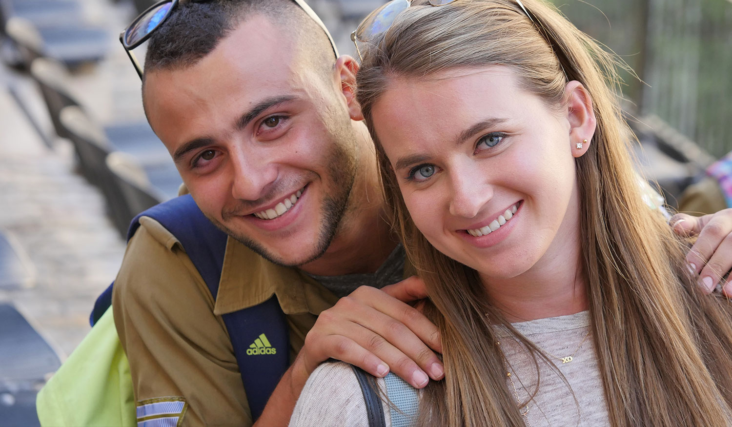 Soldier and Female